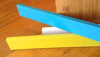 baccianini battiscopa laccato in fibra di legno o massello